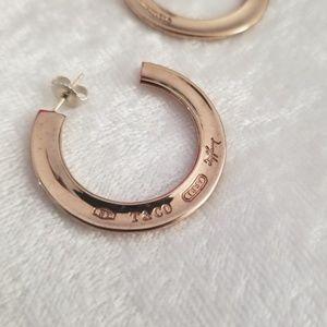 03add2694 Tiffany & Co. Jewelry | Tiffany Co 1837 Rubedo Hoop Earrings | Poshmark